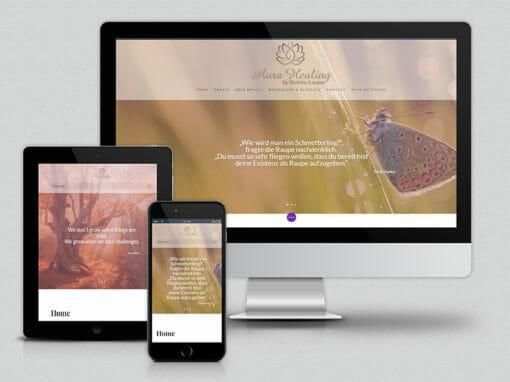 Webdesign Aura-Healing