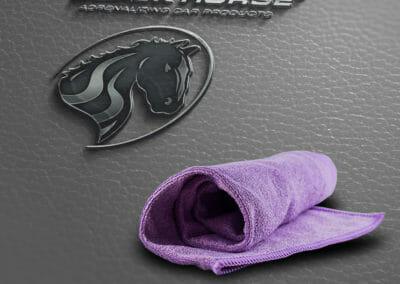 Mikrofassertuch Special Edition purple autopflege produkte